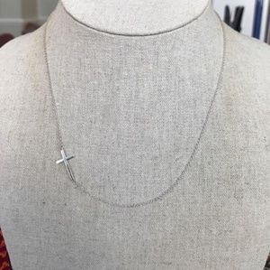 Stella and Dot Cross Necklace